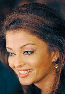 Aishwarya Rai in Dark Blue Eyeliners
