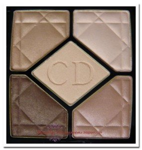 Best Eyeshadow Reviews - Dior 5-Colour Eyeshadow