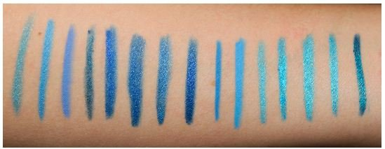 Blue Eyeliner - Some of the Blue Eyeliner Shades