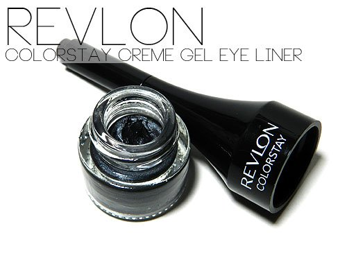 Gel Eyeliner or Cream Eyeliner - Revlon Colorstay Creme Gel Eye Liner