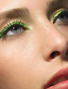 Green Eyeliner Color