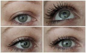 Thickening and Volume Mascara - Before and After Looks