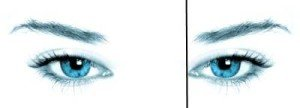 Eyebrow Shaping - Locate Eyebrow Shaping Starting Points