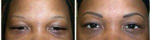 Eyebrow Tattoo -Soft Shading Technique Permanent Eyebrows (Healed)