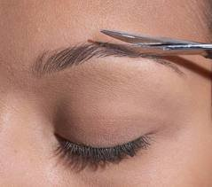 How to Trim Eyebrows for Women, Men and Tips for Brow Trimming - Cutting Eyebrows