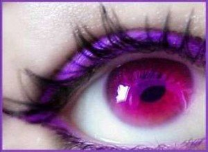 Purple Eyes - Girls with purple eyes