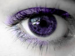 The Purple Eyes – Causes, Purple Eye Disease and Makeup Tips