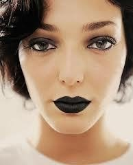 Black Matte Lipstick Looks