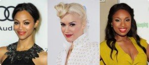 How to Wear Red Lipstick - Zoe Saldana, Gwen Stefani and Jeniffer Hudson