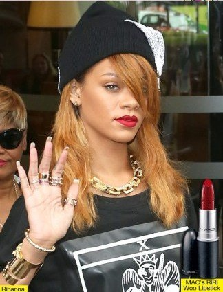 How to Wear Red Lipsticks - Rihanna RiRi Woo Red Lipstick for MAC