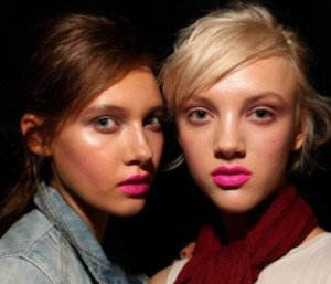 Pink Lip Gloss - Hot Pink