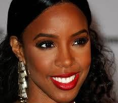 Red Lipstick Looks on Dark Skin - Kelly Rowland