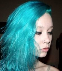 what color should i dye my hair purple or teal this or