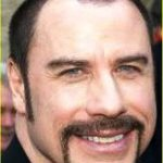 John Travolta Buzz cut for Receding Hairline