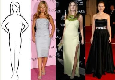 Apple Body Shape - Jade Jagger, Drew Barrymore, Kate Winslet