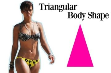 Triangle Body Shapes
