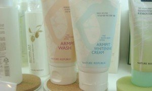 Armpit Whitening Cream - Nature Republic Armpit Wash