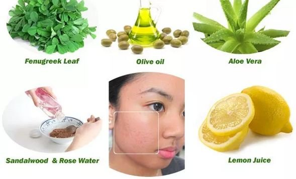 Facial treatments for acne scars at home